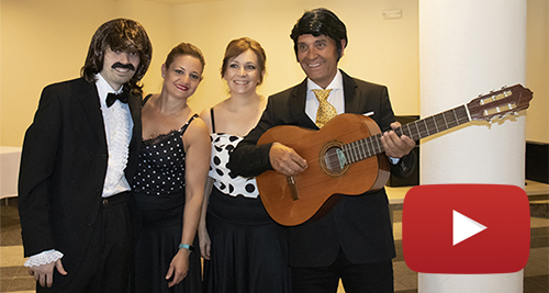 Entreálamos interpreta a Peret en eurovisión video