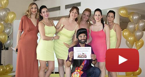 Entreálamos interpreta a Rodolfo chikilicuatre en Eurovisión (2) video