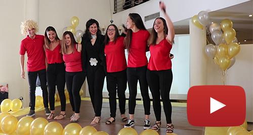 Entreálamos interpreta a Rosa en eurovisión video