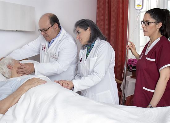 unidades de enfermedades avanzadas y cuidados paliativos